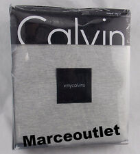 Calvin Klein Home Jersey Body QUEEN Fitted Sheet Gray