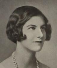 Lady Davina Davidema Katharine Cynthia Mary Bulwer Lytton 1928 Photo Article