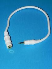 Cavo riduttore jack da 3,5 mm Femmina a 2,5 mm Maschio adattatore cuffie PC
