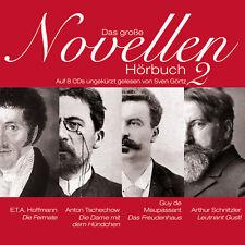 Audiobook CD The Great Novellen Audiobook II 8CDs