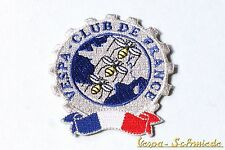 "Aufnäher ""Vespa Club de France"" - Klub Frankreich V50 PK PX GS GL Piaggio Patch"