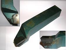 Utensile da tornio saldobrasato stelo 25x25 da passata e intestatura