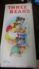 Goldilocks & The Three Bears Book Edith Lowe 0729E