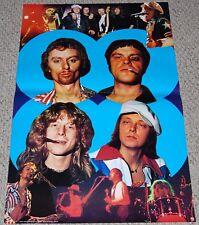 GASOLIN' Collage Poster 1977 Minerva 101380 Denmark Danish Rock Band