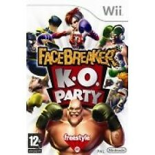 Facebreaker K.O Party Game Wii