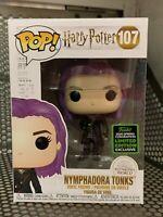 Funko Pop Nymphadora Tonks #107 Harry Potter Caliente Contenido Shared Eccc +