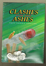 #T46. CRICKET CLASHES FOR ASHES 1990/91 MEDALS - SEALING DAMAGED