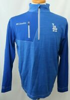 New LA Dodgers MLB Columbia Omni-Heat Embroidered Pullover Jacket Men's M