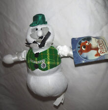"Sam the Snowman in Rudolph Nanco 9"" Plush Soft Toy Stuffed Animal"
