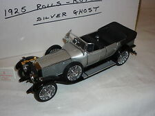 A Franklin mint scale model of a 1925 Rolls Royce Silver Ghost,  boxed