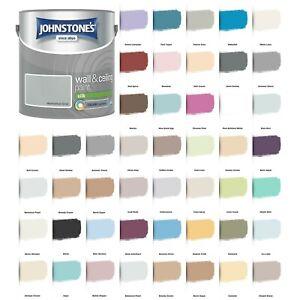 Johnstone's Wall & Ceiling Silk Emulsion Paint 2.5 Litre - ALL COLOURS