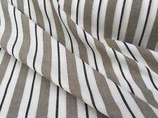 Italian Cotton & Linen Chambray 'Potteni D' (per metre) dress fabric