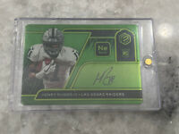 2020 Panini Elements HENRY RUGGS III Rookie Steel Auto NEON #'d 3 of /10 Raiders
