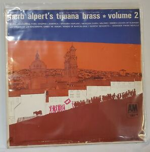 Herb Alpert's Tijuana Brass–Vol 2 A&M Records LP 103  NEAR MINT COMBINED SHIP