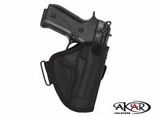 SCCY CPX 1 & 2 Open Top Molded Nylon Belt Slide Holster , Akar