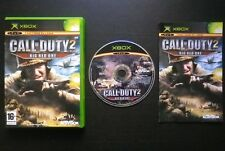 CALL OF DUTY 2 BIG RED ONE : JEU Microsoft XBOX (complet, envoi suivi)