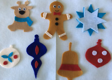 Felt Christmas Tree Ornaments - Childrens Felt Flannel Board Story