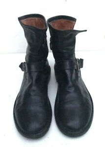 FIORENTINI+BAKER CHAD LEATHER ANKLE  BOOTS SIZE 38 US 7.5