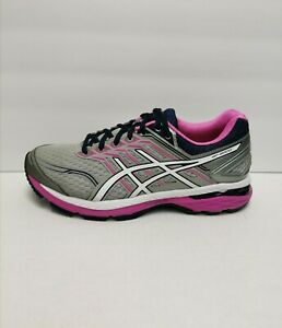 ASICS GT-2000 5 Cross Training Running Shoes Silver / Pink Women's Size 9 (EE)