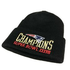 New England Patriots Super Bowl XXXVII Champs Beanie Winter Hat NFL Football
