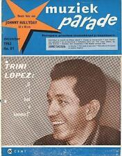 MUZIEK PARADE 81/63 TRINI LOPEZ B. HOLLY ADAMO SHEILA