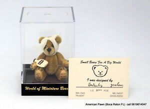"""World of Miniature bears #850 OUCH-2.5 INCH"