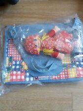childrens handbag with doll