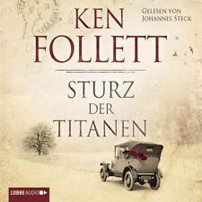 """KEN FOLLETT """"STURZ DER TITANEN"""" 12 CD HÖRBUCH NEU"""