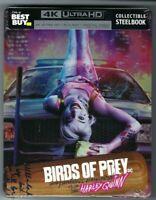 BIRDS OF PREY Limited Edition Steelbook (4K UHD+Blu-ray+Digital Code)