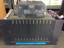 Bogen Multicom 2000 Intercom System MC-PCA2 MCTC 5x MCACB 5x MCSC MC-2626A PS