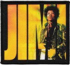 """Jimi Hendrix """"Jimi"""" sew-on cloth patch (cv)"""