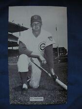 J.D. McCarthy postcard Vic Roznovsky Cubs post cards baseball