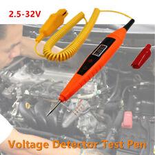 3-32V Digital Electric Car Fuse Circuit Probe Tester Voltmeter Voltage Indicator