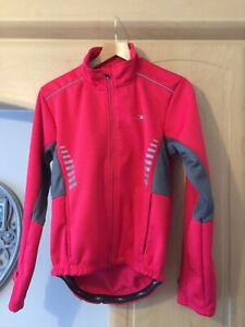 Ladies Crane Softshell long sleeved cycling jacket size Small