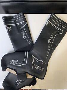 Spatz Spatzwear Legalz 2 Cycling Overshoes Black - L / XL