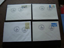 FRANCE - 4 enveloppes 1991 (cy45) french