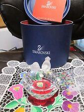 Swarovski Crystal Bird Bath  Feathered Beauty Series