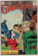 GIRLS LOVE STORIES #89 GD 1962 DC ROMANCE COMIC SILVER AGE