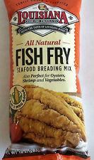 All Natural 10 Oz. Louisiana  Fish Fry  All Natural . No Msg , No Salt