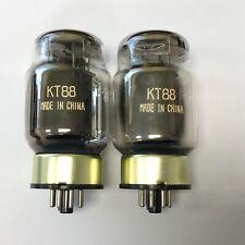 KT88 SHUGUANG GOLD BASE MATCHED PAIR VALVE/TUBE