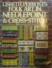 Lisbeth Perrones Folk Art in Needlepoint & Cross-