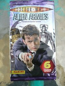DOCTOR WHO, ALIEN ARMIES, EMPTY TRADING CARD WRAPPER