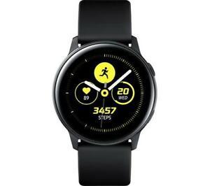 Samsung Galaxy Watch Active Health & Fitness Tracking Smart Watch - Black