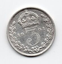Great Britain - Engeland - 3 Pence 1901