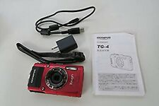 Olympus Stylus Tough TG-4 16.0MP Digital Camera Red 15m waterproof WIFI GPS USED
