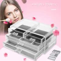 Drawer Storage Jewelry Ring Collection Box Flannel Tray Holder Organizer Case