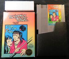 Original 1987 Nintendo NES The Legend of Kage Video Game Cartridge & Box Taito