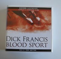 Blood Sport: by Dick Francis - Unabridged Audiobook - 8CDs