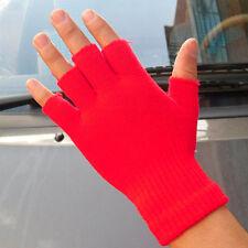 10color Women Men Winter Fingerless Half Fingers Warm Knit Warmer Gloves Mittens