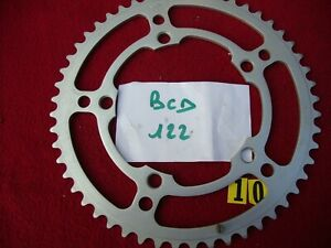 NEUF   plateau STRONGLIGHT modéle 104 BCD 122 52 dents   NOS  bicycle chainring
